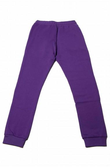 Pantalone tuta Happiness viola