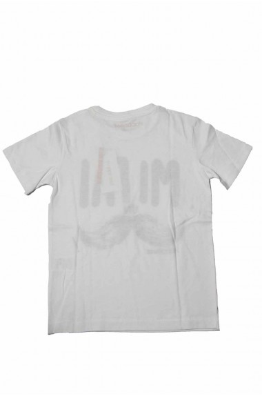 T-shirt Happiness bianca