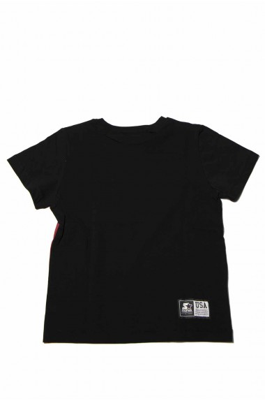T-shirt starter nera bicolor