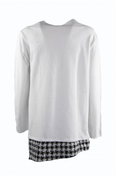 Felpa con finta t-shirt, BERNA
