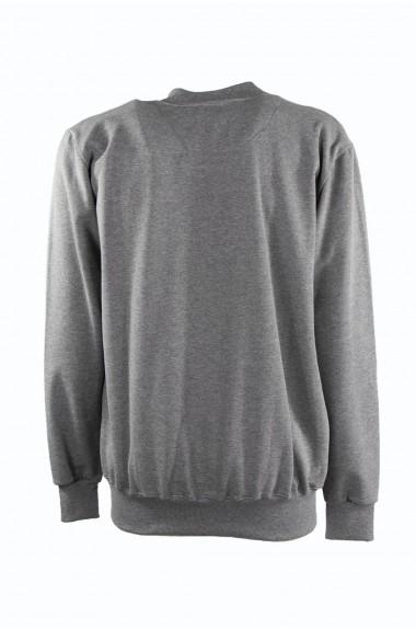 Felpa grey con zip, PARKSIDE
