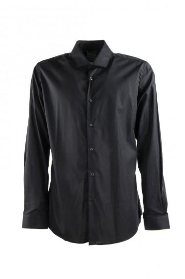 Camicia uomo nera tinta...