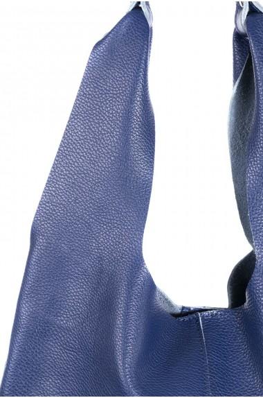 Borsa morbida blu