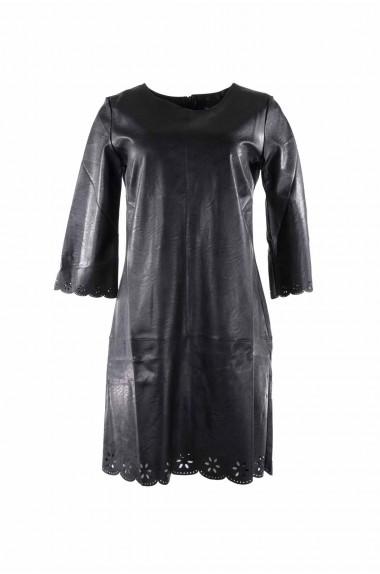 Vestito in ecopelle nero...