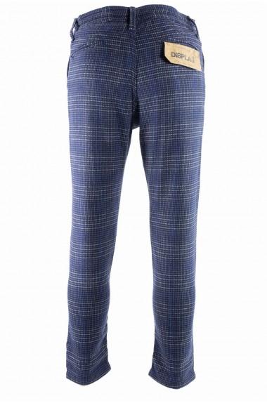Pantaloni blu Displaj