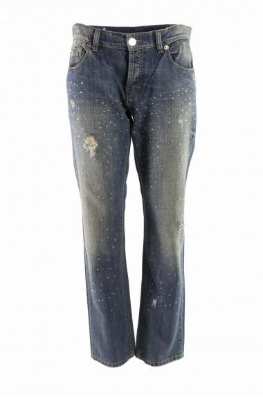 Jeans délavé glitter Pinko