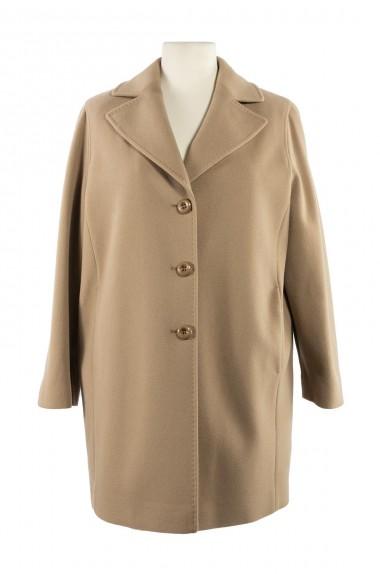 Cappotto beige classico da...