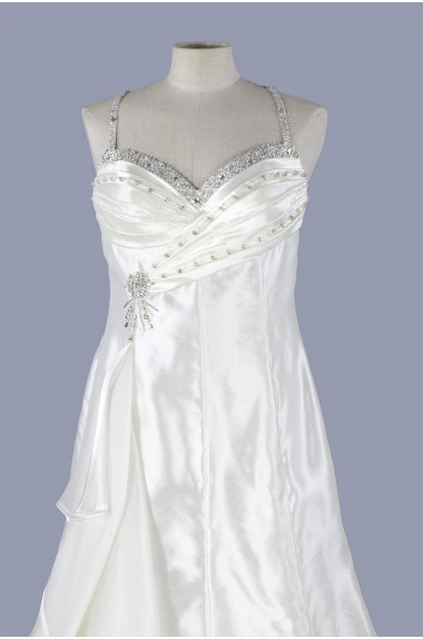 Abito vestito da sposa con...