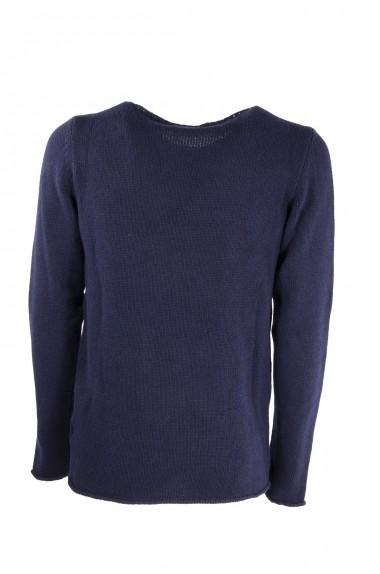 Maglione uomo WOOL & CO blu...