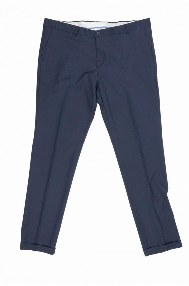 Pantalone classico uomo blu...
