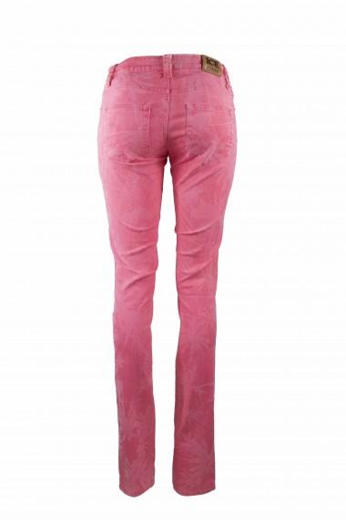 Jeans fantasia floreale...