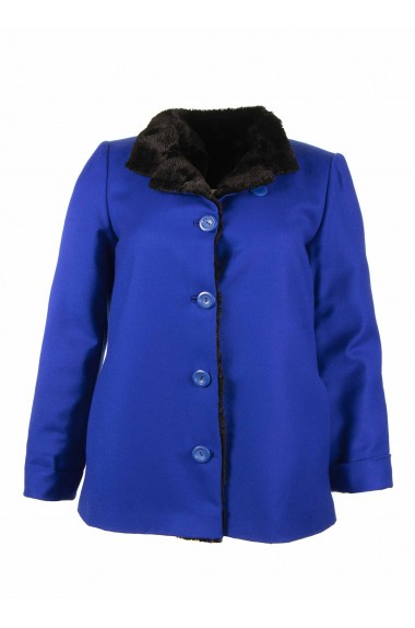 Cappottino da donna blu...